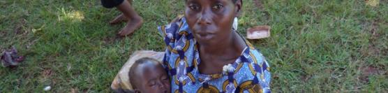 Village baby touched by God and healed of Malaria.